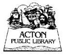 Acton Public Library