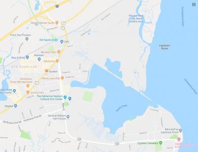 Google Map Main Street Old Saybrook