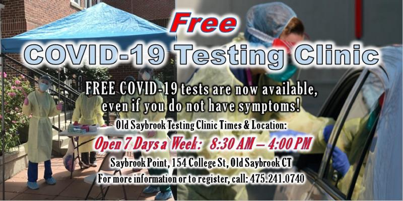 Free COVID-19 Testing Now Available 7 Days a Week